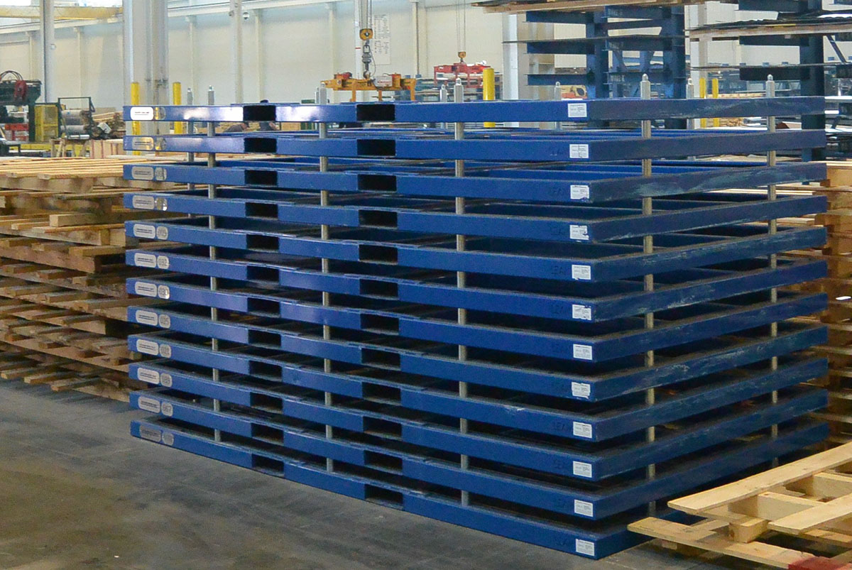 Sheet Metal Pallets