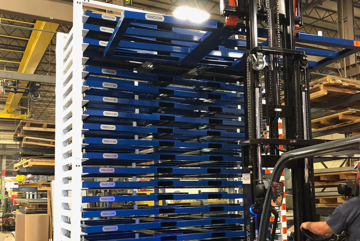 Sheet Metal Racking Systems