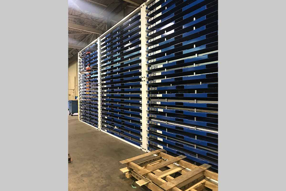 Sheet Metal Racks Storage