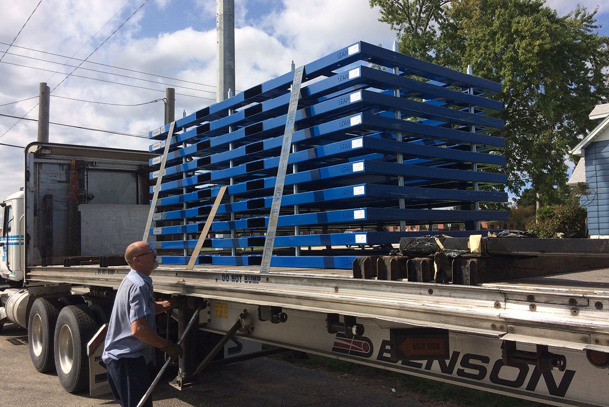 Sheet Metal Returnable Pallets