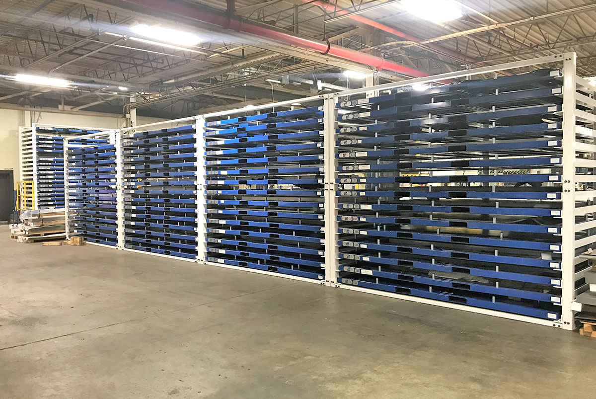 Sheet Metal Storage Systems