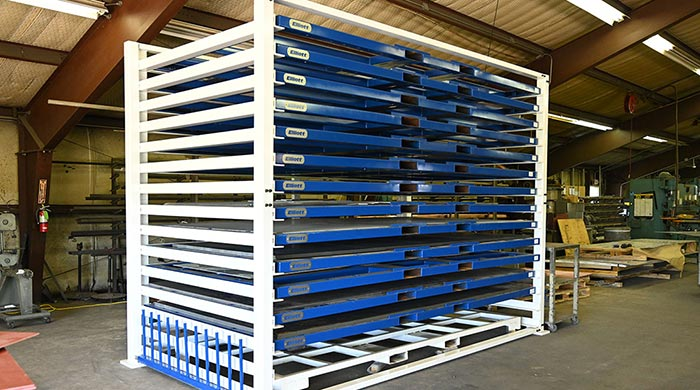 Large Sheet Metal Rack