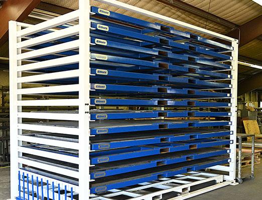 Large Sheet Metal Rack