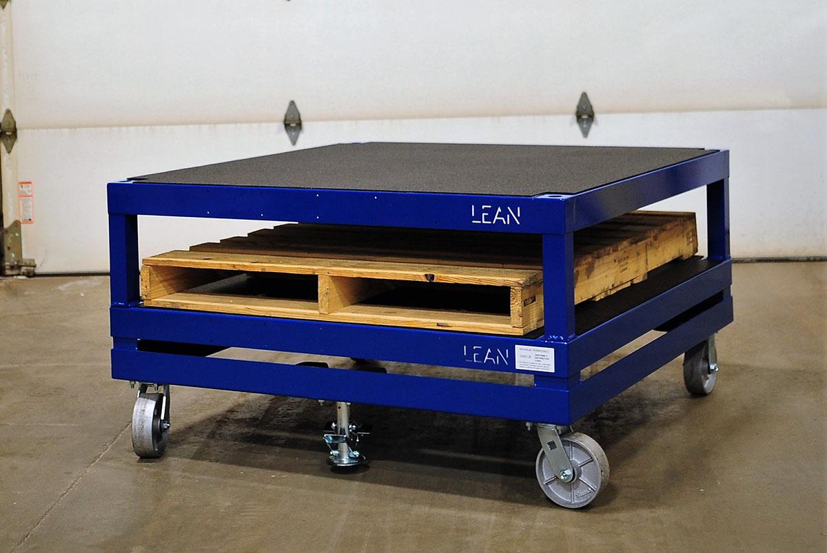 Fabricated Steel Cart