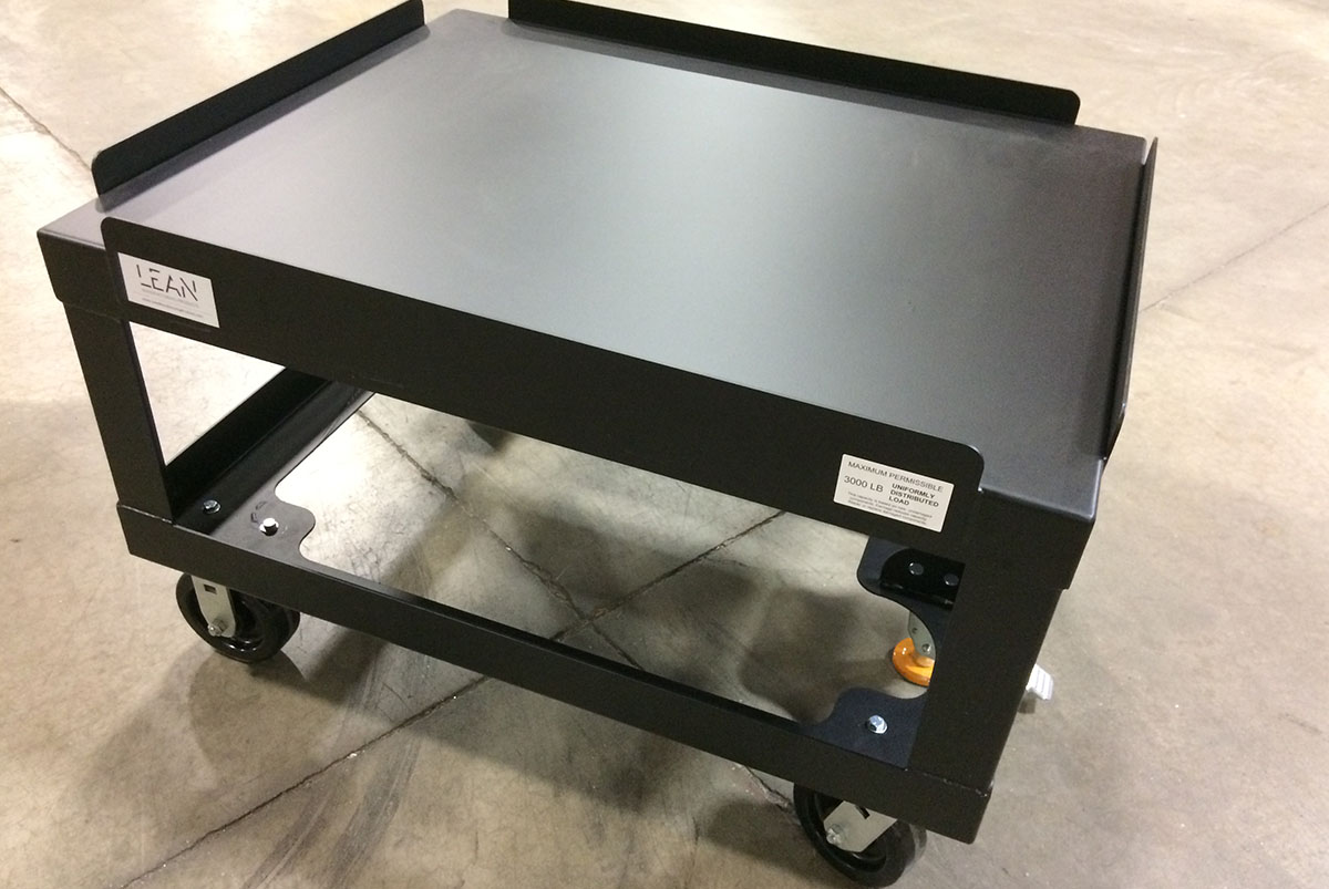 Large Steel Cart