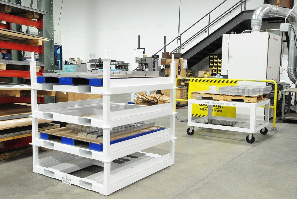 Steel Pallet Cart