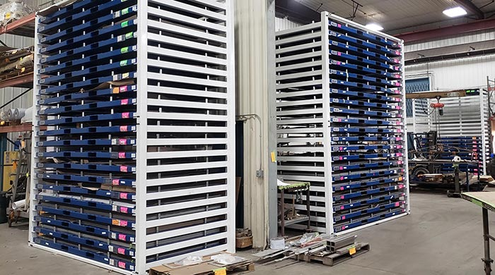 Sheet Metal Pallet Rack