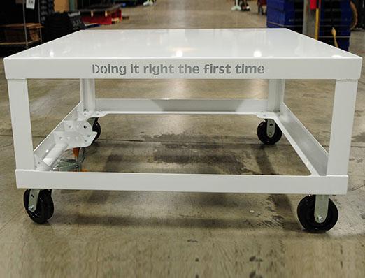Rolling Pallet Cart