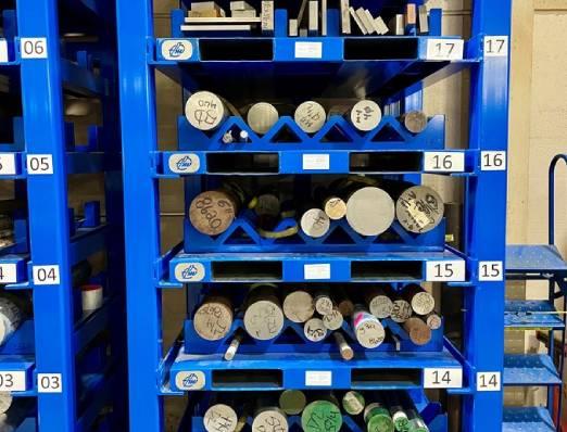 Round Stock Storage System