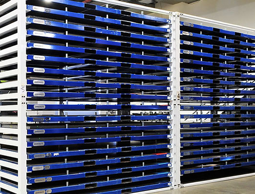 Sheet Metal Storage Racks