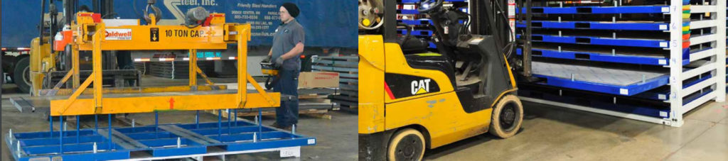 Racking Systems with Forklifts